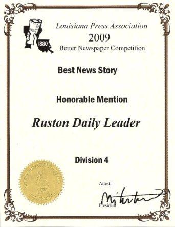 LA Press Best News Story